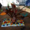 Herfstboom papier 3D