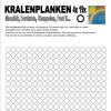 Kralenplank werkblad rond 19