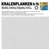 kralenplank werkblad rond 4×19