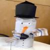 Sjaal voor de sneeuwpop 3D