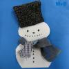 Sjaal voor de sneeuwpop 2D