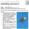 Touwverbinding : vogel