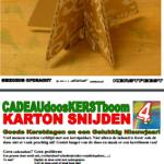 Kerstboom karton 4