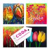 Nieuwe levering Tulpfiction kaarten bij CODA