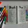 Brushpen tips trucs en tekenwerk