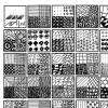Zentangel voorbeeldblad 4 in 1 AdLJ