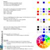 verf mengen / kleurenleer